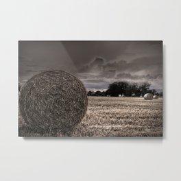 Harvesting the Land Metal Print