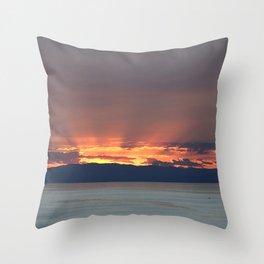 Cape Sounio 2 Throw Pillow