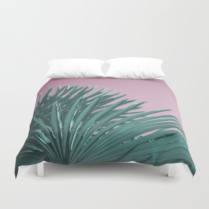 Pop Art Palms Duvet Cover
