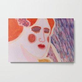 The Fairy Summoning (Mural), No. 9 Metal Print