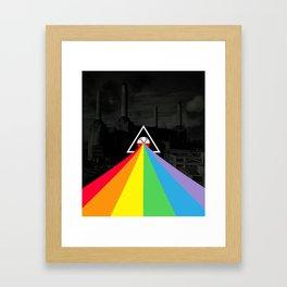Floydian collage PinkFloyd Framed Art Print
