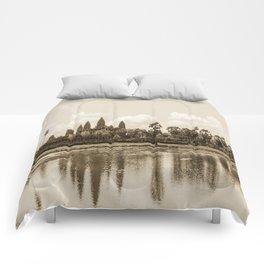 Angkor Wat, Cambodia Comforters