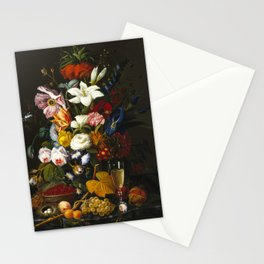 Severin Roesen - Victorian Bouquet Stationery Cards