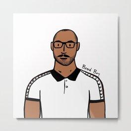 Beard Boy: Jerome Metal Print