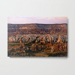 Mountains in Goreme, Turkey Metal Print