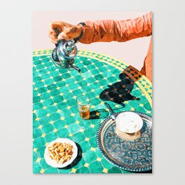 Chai #painting #digitalart Canvas Print