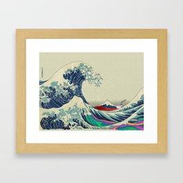 The Great Wave off Kanagawa 2016 Framed Art Print