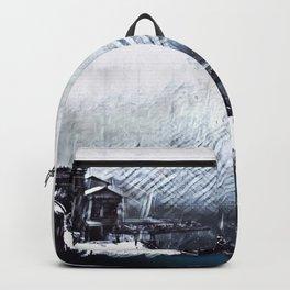 Portovenere:  Snow Birds Backpack