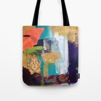 ganesh Tote Bags featuring Ganesh by Prema Designs