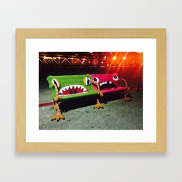 Ferry Plaza - City of San Francisco Framed Art Print