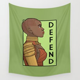 Defend Wall Tapestry