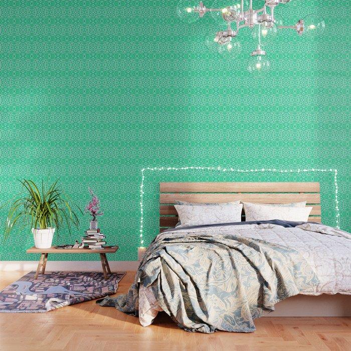 Seafoam Mint Green Pixel Pattern Wallpaper By Vintageappeal623