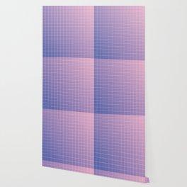 purple / pink - grid Wallpaper