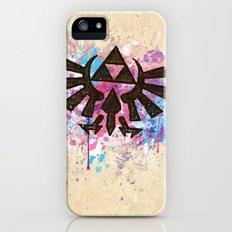 Splash Triforce Emblem iPhone SE Slim Case