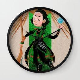 Loki Tarot Wall Clock