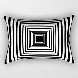 Optic Illusion Room With Visual Effect Rectangular Pillow
