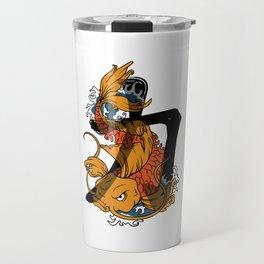 Koi Strength Travel Mug