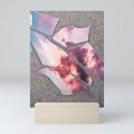shattered sky Mini Art Print