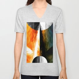 There is only One Way. No.2 [energized] Unisex V-Neck