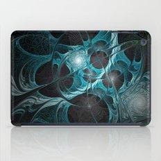 Turquoise Fractal iPad Case