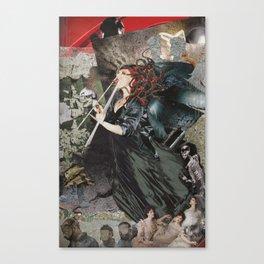 Modern Medusa Canvas Print