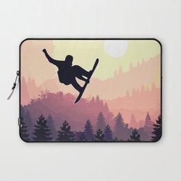 Snowboard Skyline III Laptop Sleeve