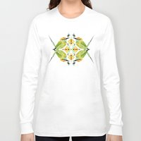soul eater Long Sleeve T-shirts featuring green bee eater  by Manoou