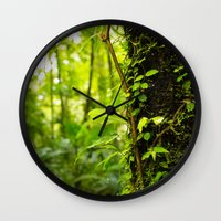 Trunk of the Jungle Wall Clock