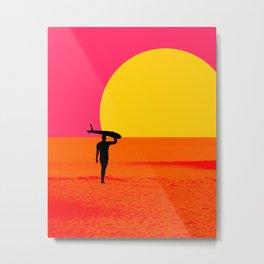 Malibu Endless Summer Metal Print
