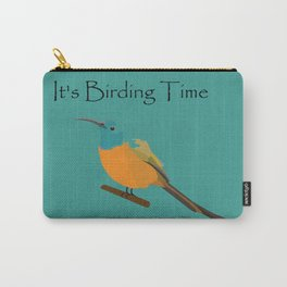 Orange-breasted sunbird - designed for bird lovers Carry-All Pouch