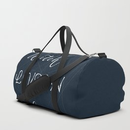 not all witches live in salem Duffle Bag