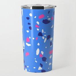 Bold Colors Terrazzo Travel Mug