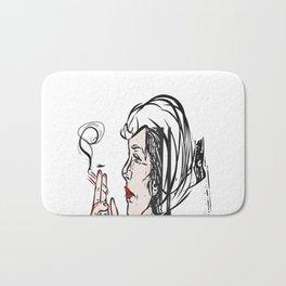 Cruella de Vil pop art Bath Mat
