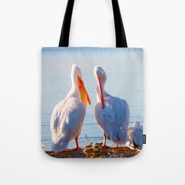 Pelican Wooing III Tote Bag