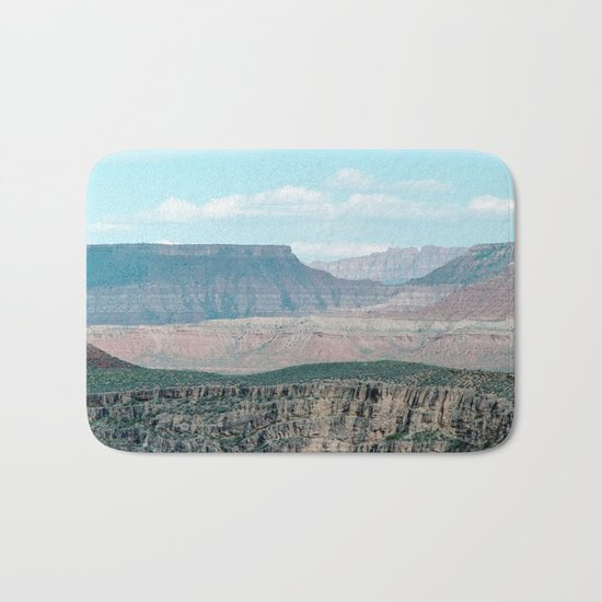 Within the Temple of Mountains (Utah) Bath Mat