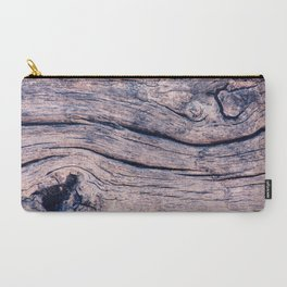 Wood 02 Carry-All Pouch