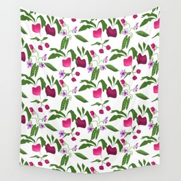 Vegetable garden Wall Tapestry