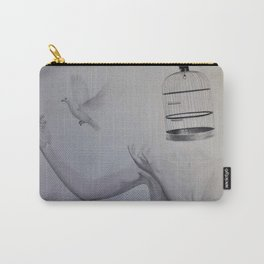 Caged bird Carry-All Pouch