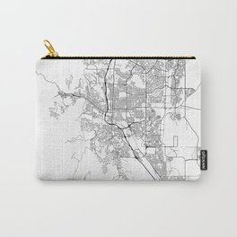 Minimal City Maps - Map Of Colorado Springs, Colorado, United States Carry-All Pouch