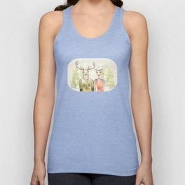Together in Happy Land Unisex Tank Top