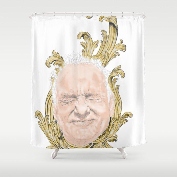 Bill Murray Baroque Shower Curtain