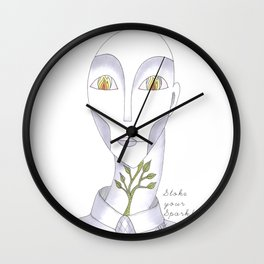 Stoke your Spark! Wall Clock