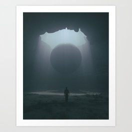 LIFTED (everyday 02.03.17) Art Print