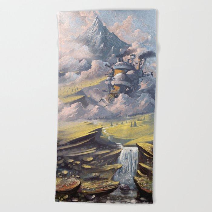 Howl's Beach Towel