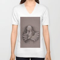 bill murray V-neck T-shirts featuring Bill by chadizms