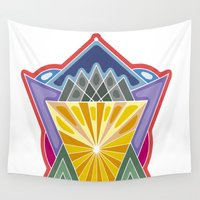 crown Wall Tapestries featuring Crown by Losal Jsk