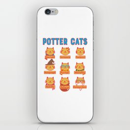 Harry Cats iPhone Skin