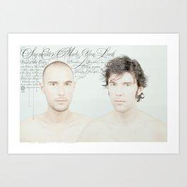 SVA Made You Look Art Print