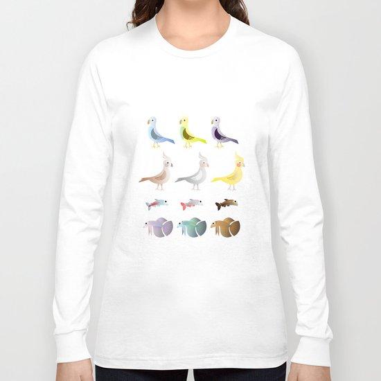 Animals 9 Long Sleeve T-shirt