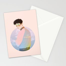 BLUE NBHD  Stationery Cards